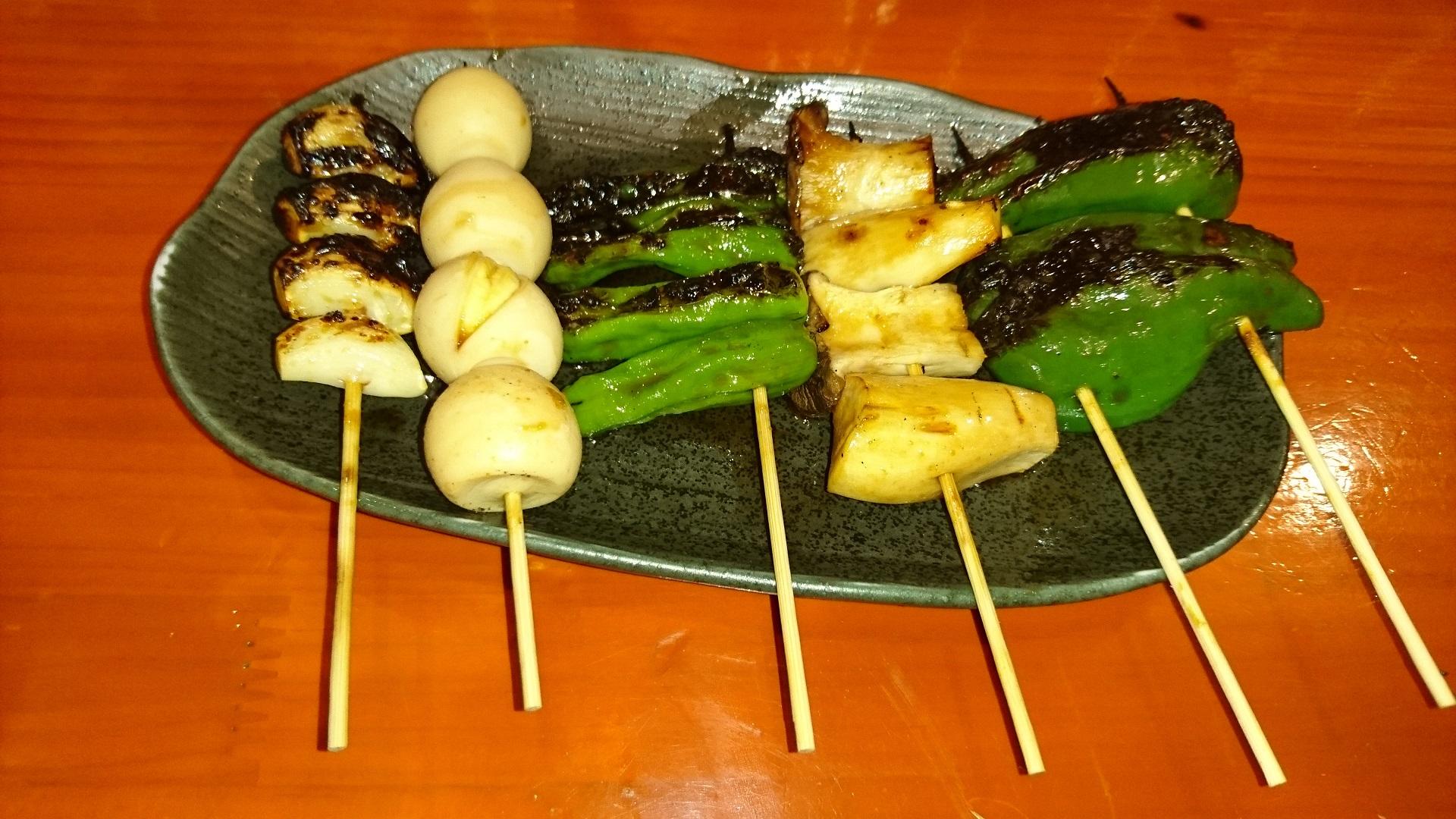 野菜串盛合わせ