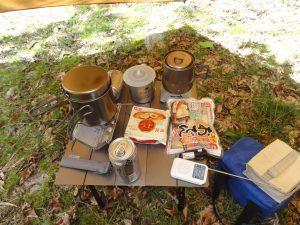 キャンプの写真2