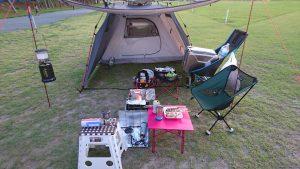 キャンプの写真1
