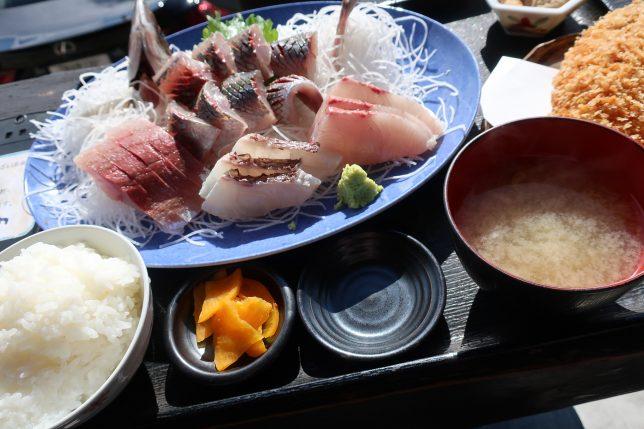 地魚刺身定食