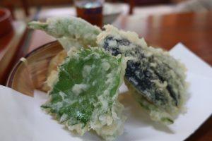 地野菜天ぷらの写真